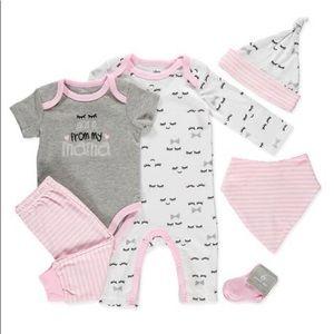 Brand New Baby girl 6PC Set